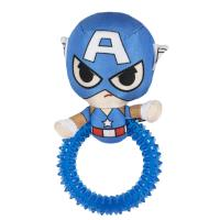 DOG TEETHERS AVENGERS CAPITAN AMERICA