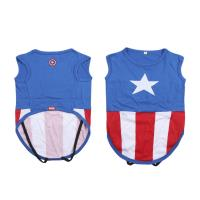 TEE-SHIRT POUR CHIEN SINGLE JERSEY AVENGERS CAPITAN AMERICA