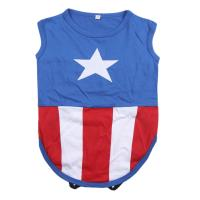 DOG T-SHIRT SINGLE JERSEY AVENGERS CAPITAN AMERICA 1