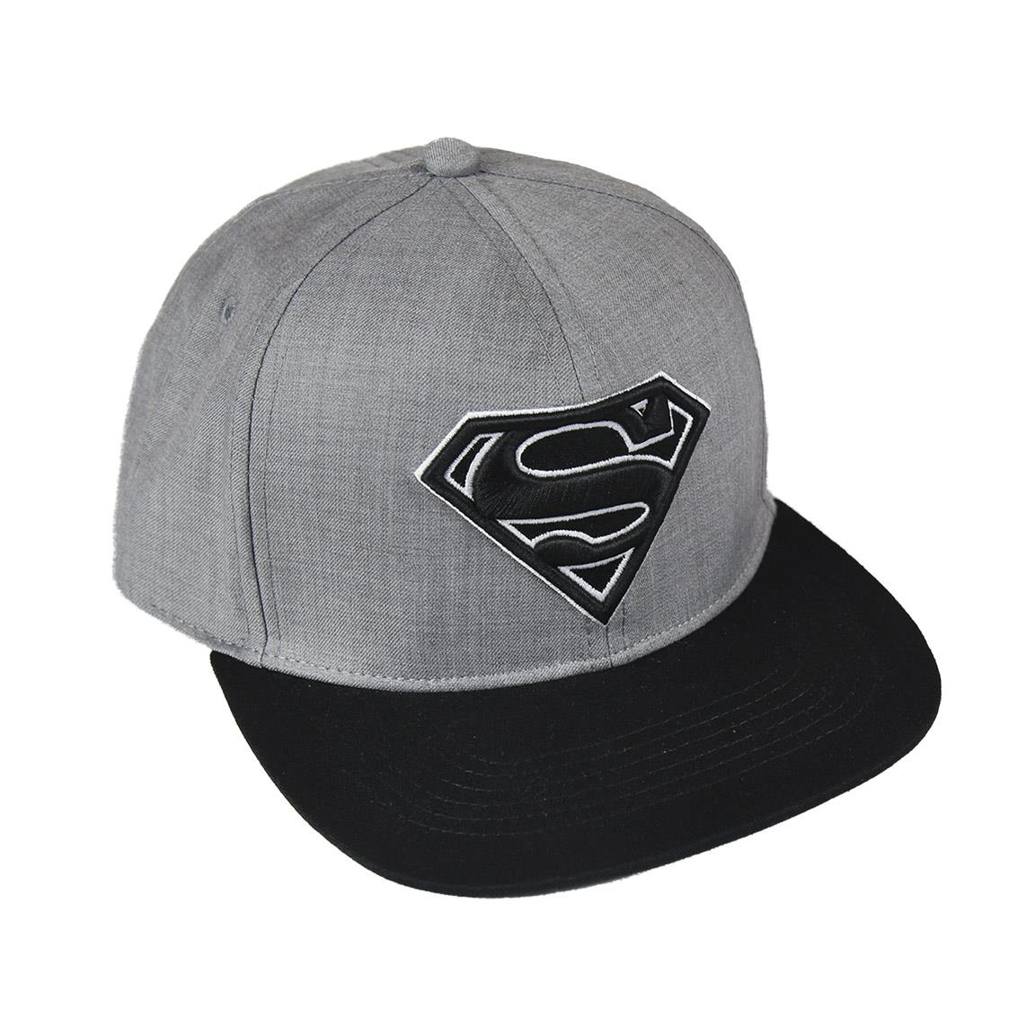 CRD - Gorra gris DC Comics Superman