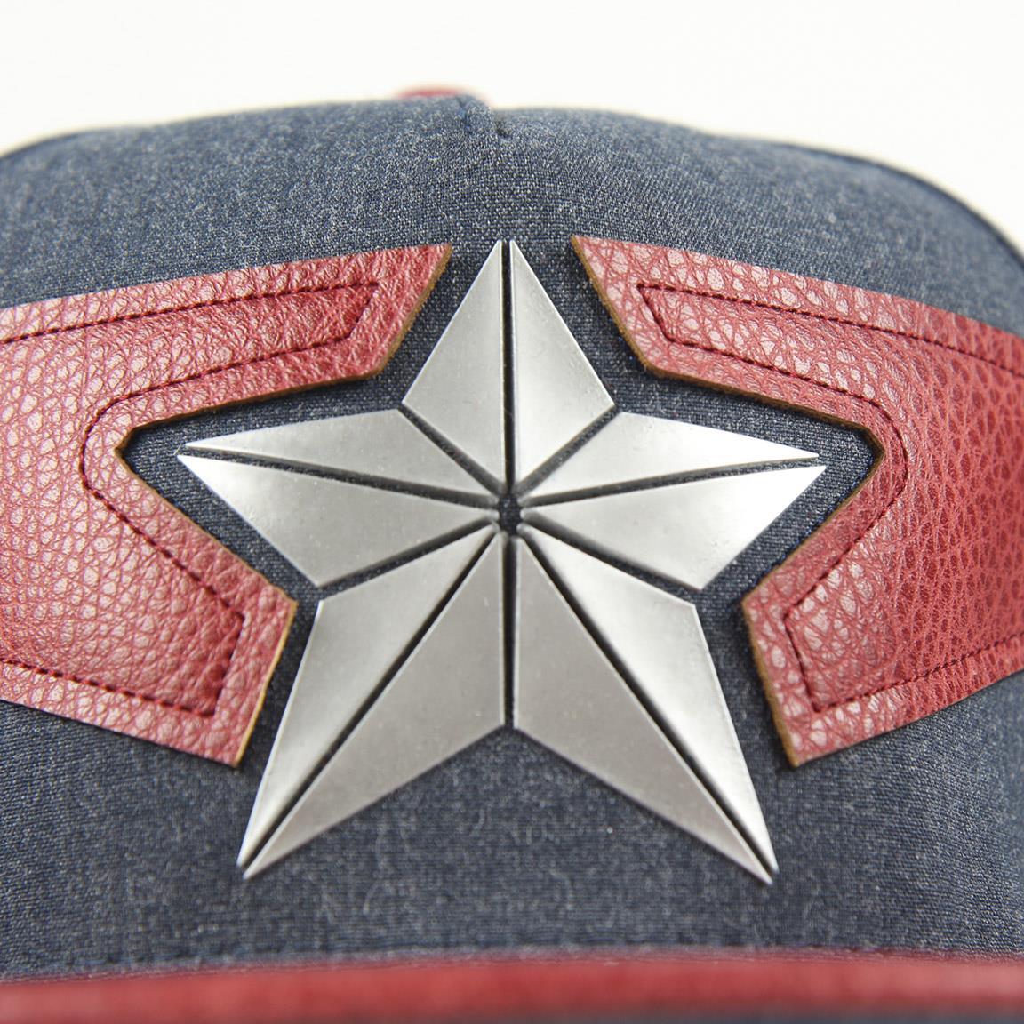 CRD - Gorra Capitán América azul y roja