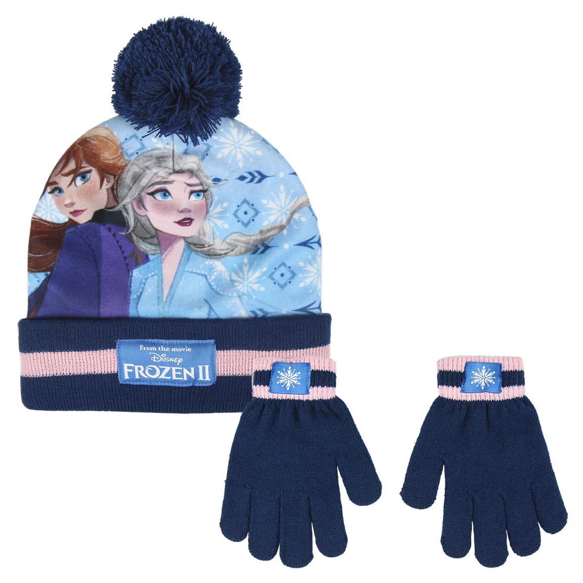 CRD - Conjunto de guantes y gorro Frozen II