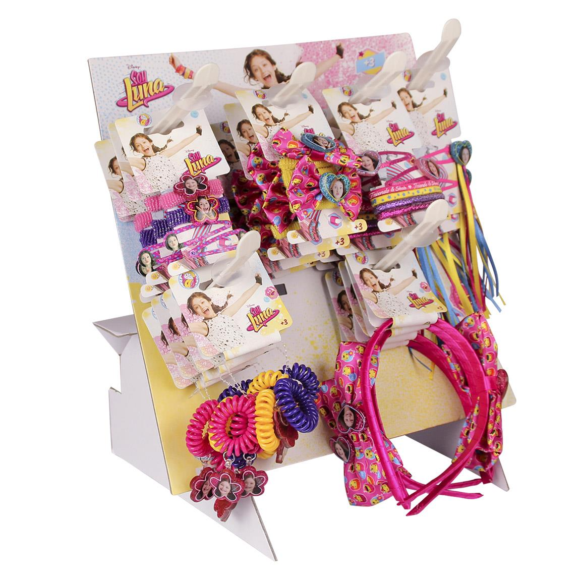 Manufacturer And Wholesaler Of Hair Accessories Display Soy Luna