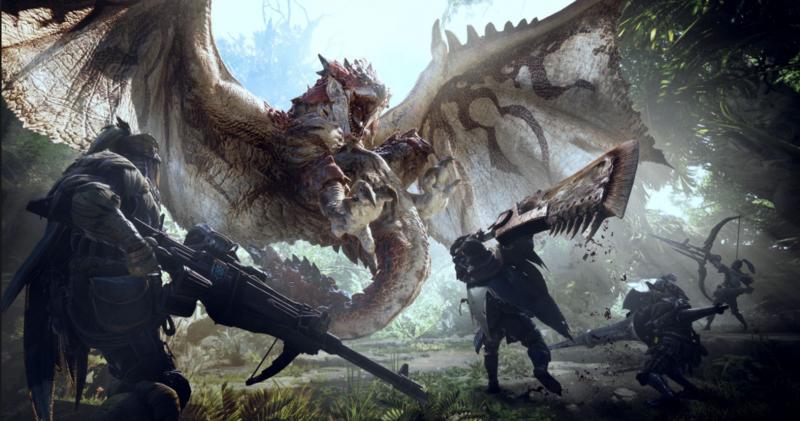 GameSatış Monster Hunter World Oyununa Yeni Güncelleme Geldi
