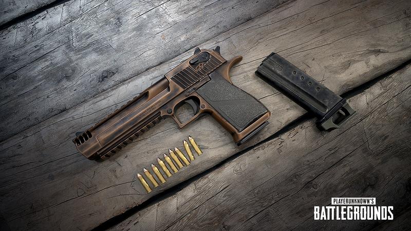 pubg yeni silah desert eagle deagle