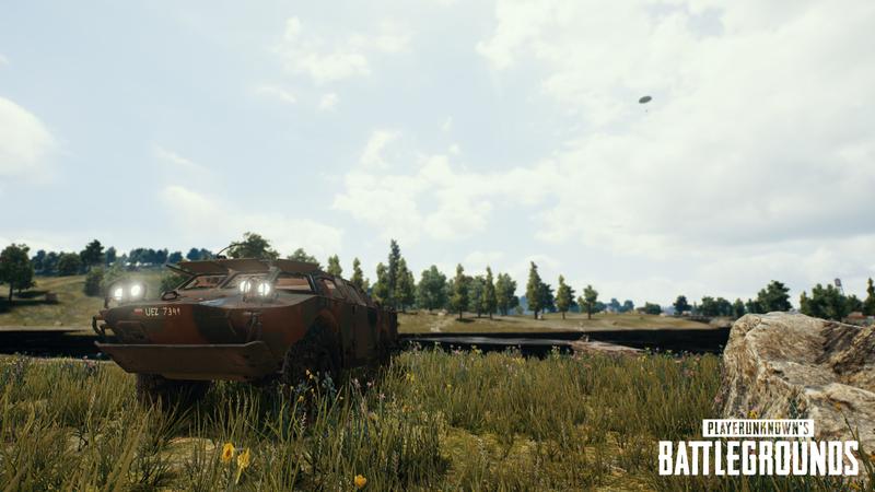 PUBG Yeni tank brdm2 geliyor