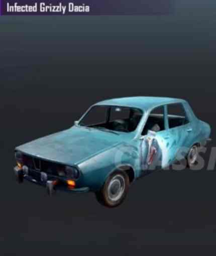 pubg mobile sezon 9 infected grizzly dacia