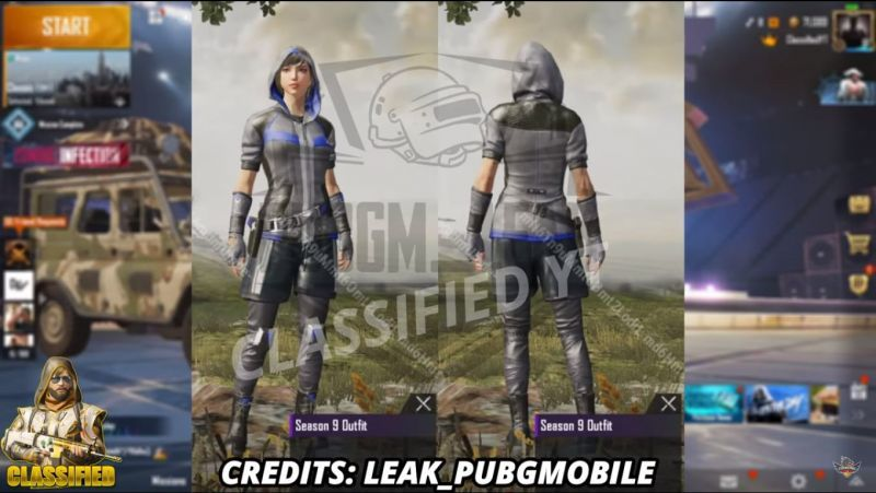 PUBG Mobile 9. sezon kostum 1
