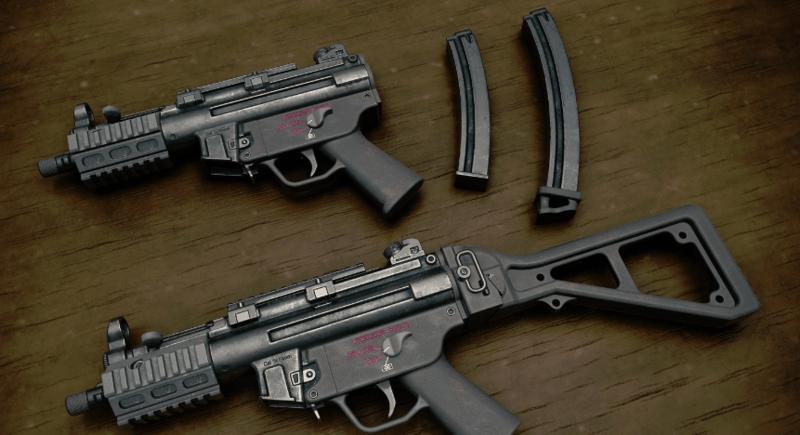 pubg mobile sezon 9 yeni silah mp5k