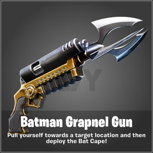 fortnite batman graple gun