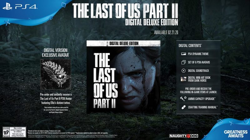 the last of us part 2 digital deluxe edition
