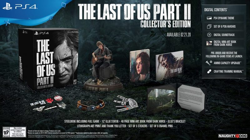The Last Of Us Part 2 Collectors Edition