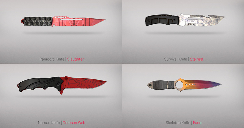 csgo yeni gelen bıçaklar