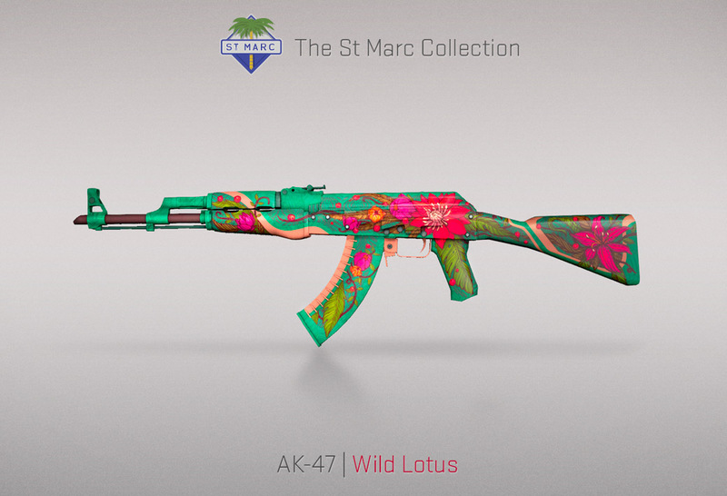 AK47 wild lotus yeni ak kostümü