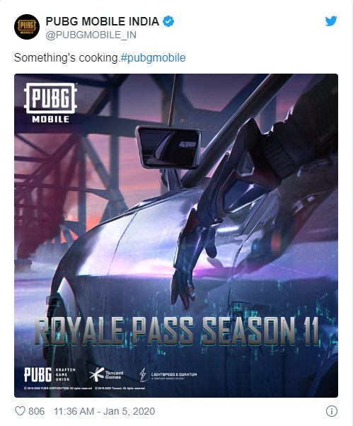 PUBG Mobile 11. Sezon