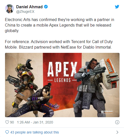 Apex Legends Mobile Açıklama