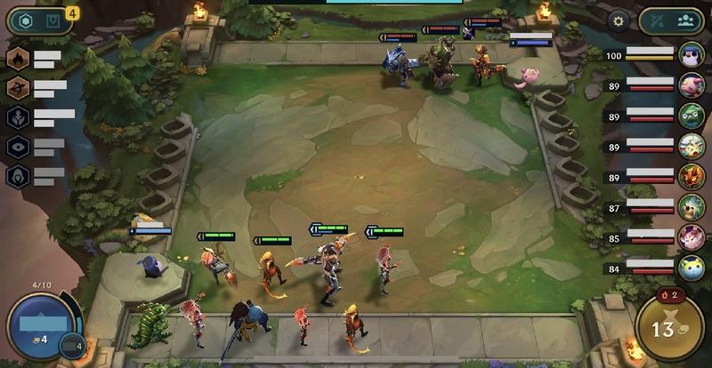 Taktik Savaşları Mobile Oyun Ekranı