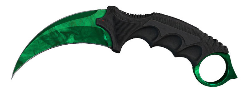 CSGO Karambit Gamm Doppler Emerald