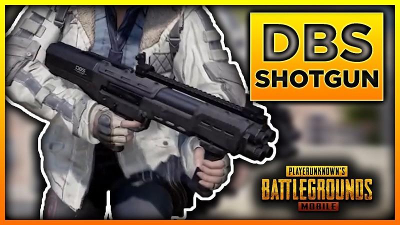 PUBG Mobile yeni silah dbs