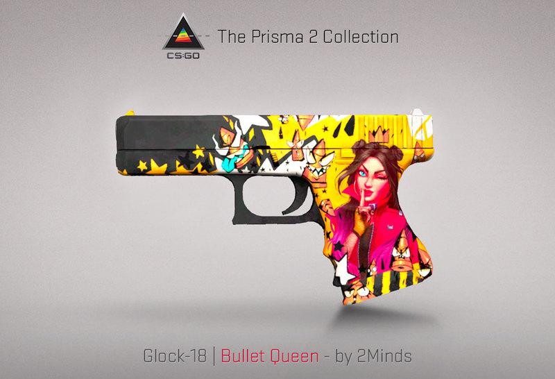 Glock-18 Bullet Queen