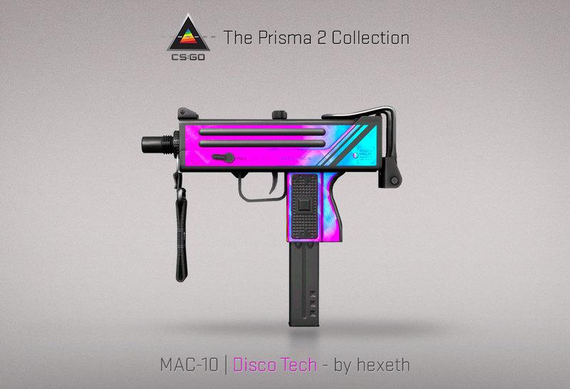 MAC-10 Disco Tech
