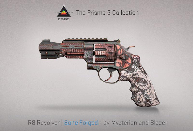 R8 Revolver Bone Forged