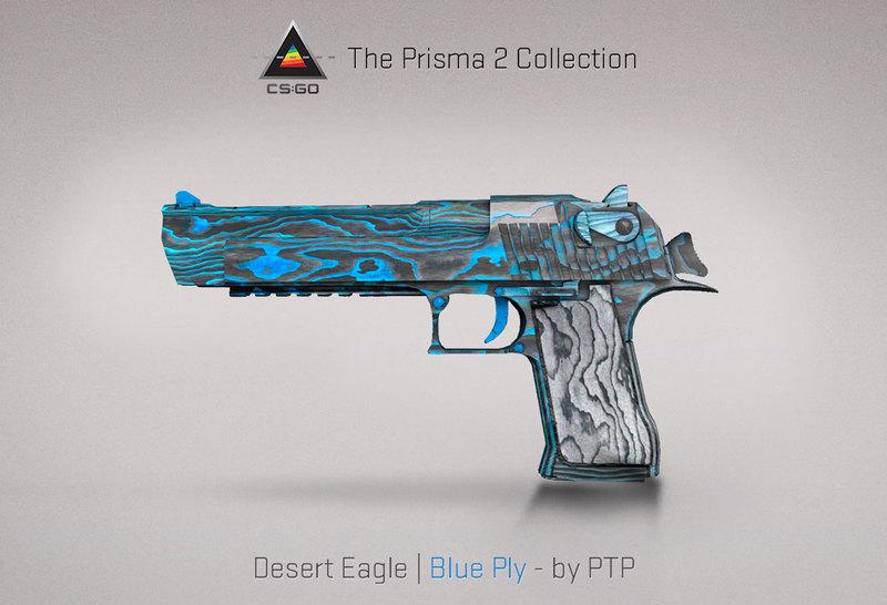 Desert Eagle Blue Ply