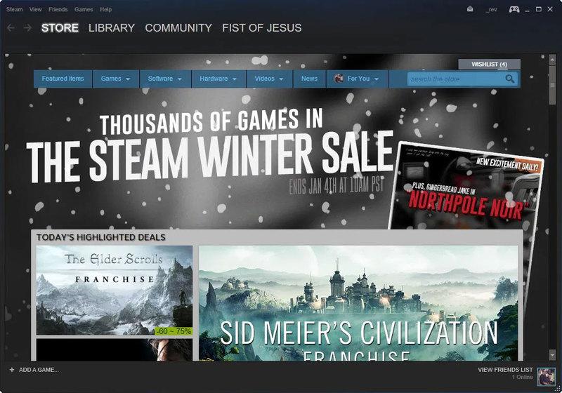 steam kış indirimleri