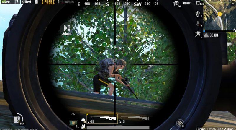 pubg mobile aim