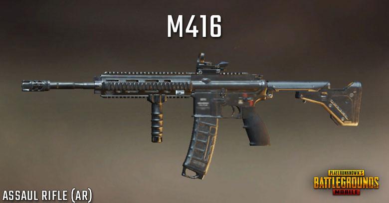 pubg mobile M416