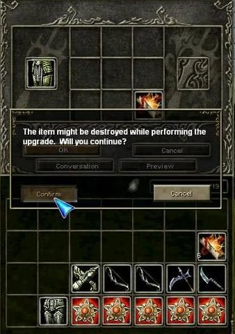 knight online upgrade