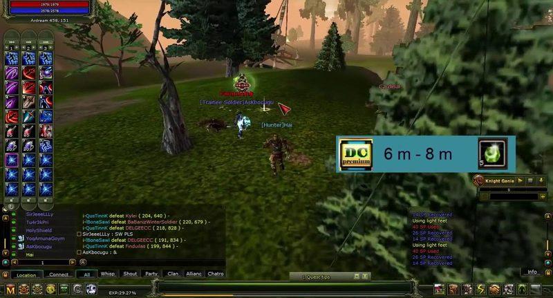 knight online farm