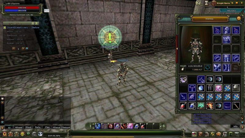 knight online hapis alanı