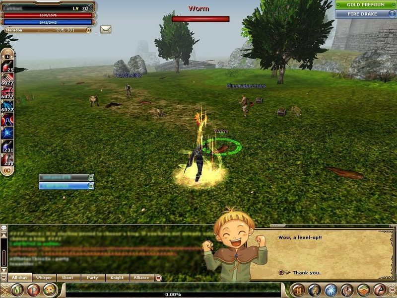 knight online level up