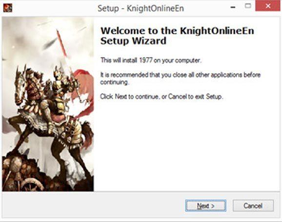 knight online setup