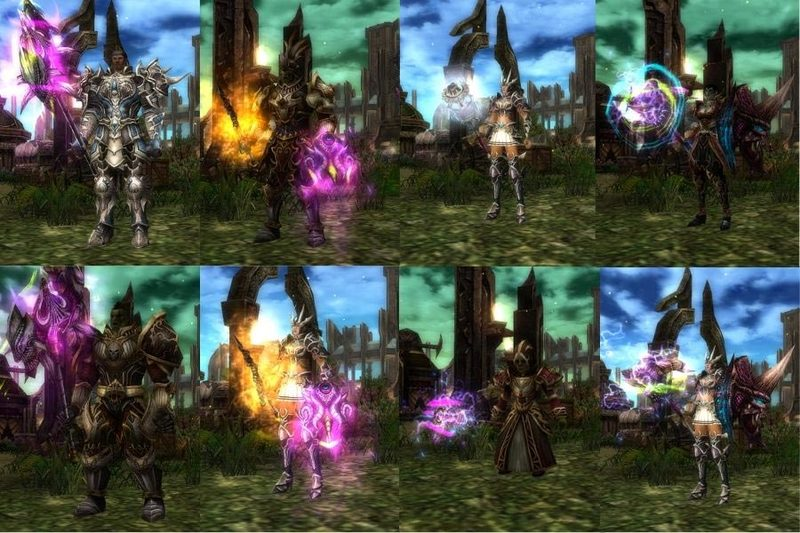 Knight online karakterler
