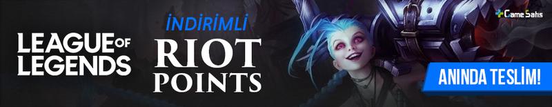 League of Legends Riot Point Satın Al