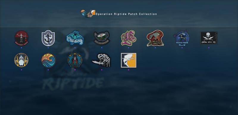 Operation Riptide Patch Collection