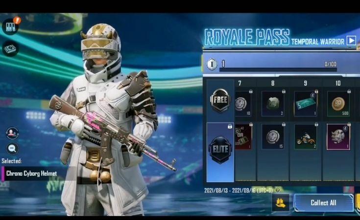 Chrono Cyborg Headgear Miğfer