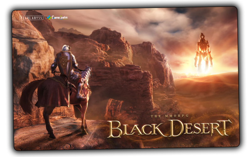 black desert online mousepad