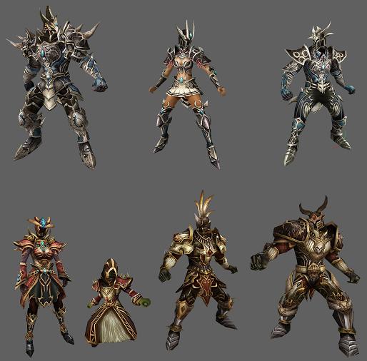 Knight Online UTC Armor