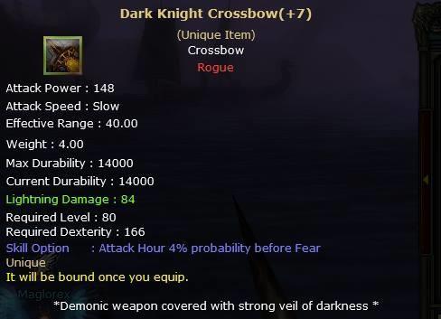 Knight Online Dark Knight Crossbow-2
