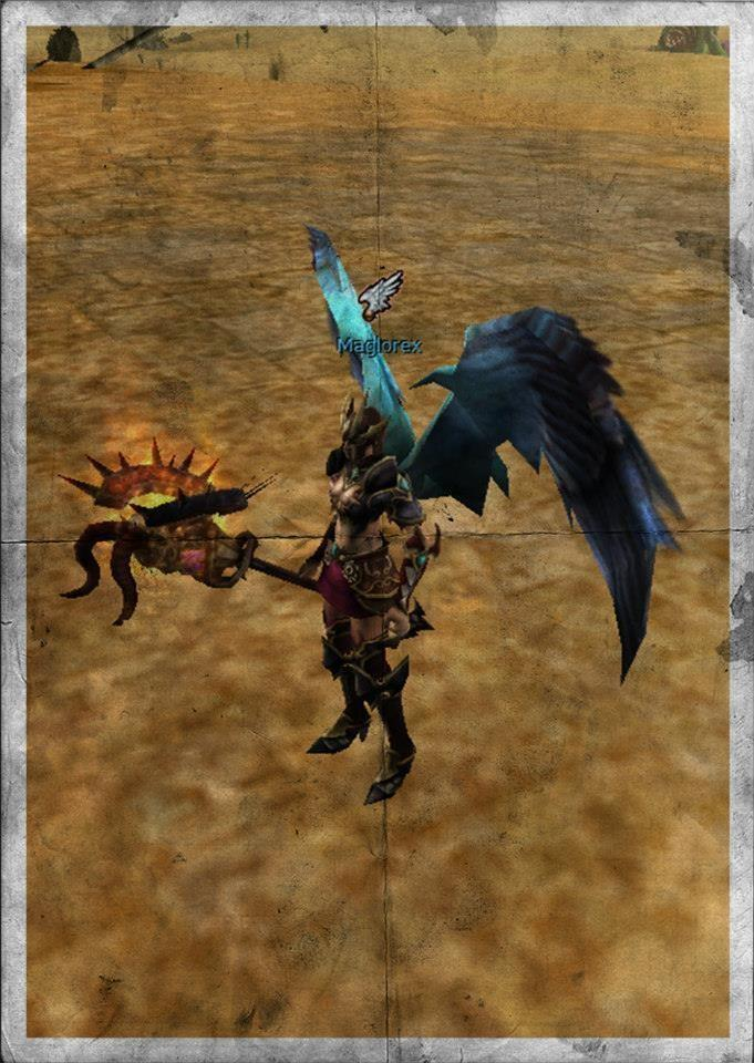 Knight Online Fire Dark Knight Staff-1