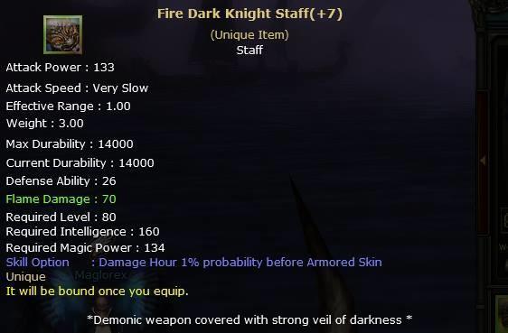 Knight Online Fire Dark Knight Staff-2