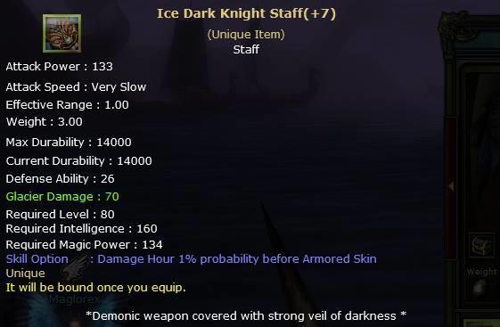 Knight Online Ice Dark Knight Staff-2