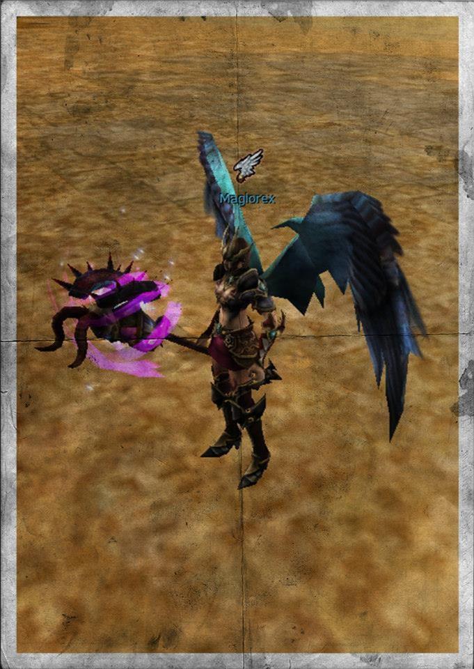 Knight Online Lightning Dark Knight Staff-1