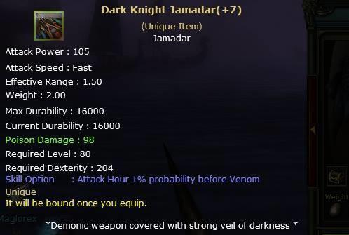 Knight Online Dark Knight Jamadar-2