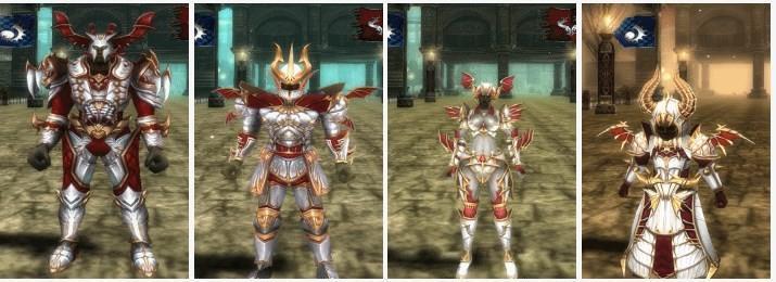 Knight Online Dark Knight Armor (Holy) Karus Görseli
