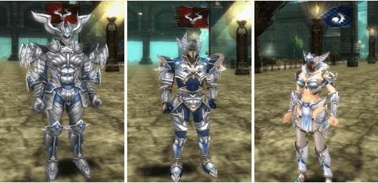 Knight Online Dark Knight Armor (Holy) Human Görseli