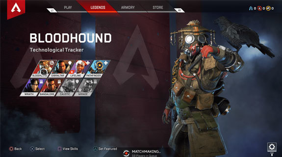 Apex Legends Bloodhound yetenekler